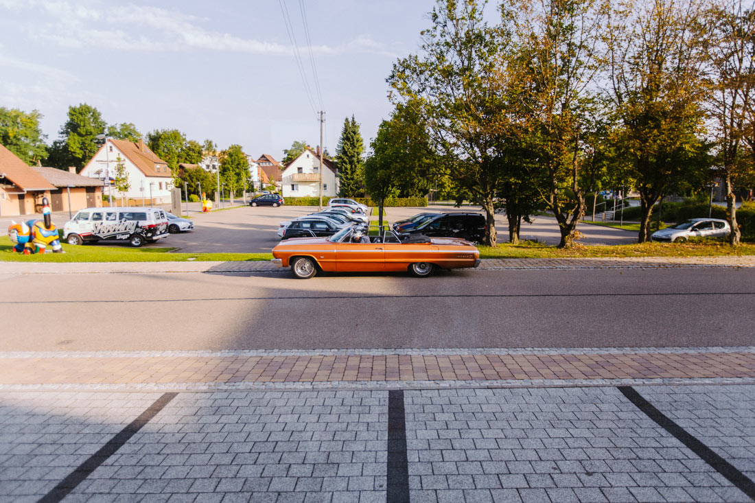 Chevrolet Impala vor dem Friseur