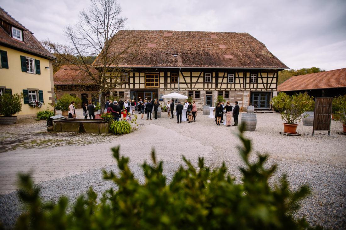 Der Steinbachhof bei Vaihingen