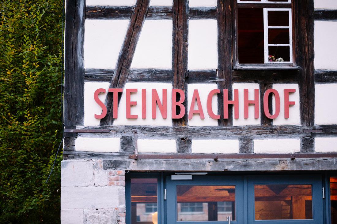 Schriftzug des Steinbachhof