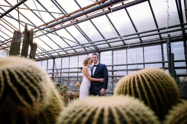 Hochzeit im Gewächshaus Biodom