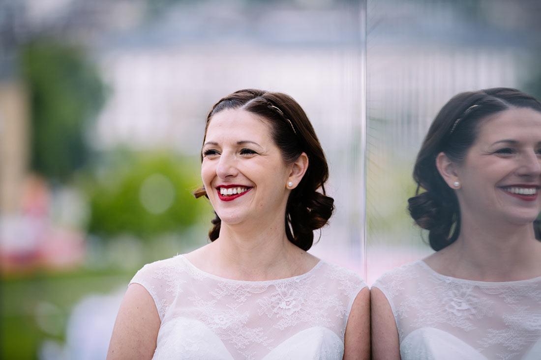 Portrait der Braut im Kunstmuseum