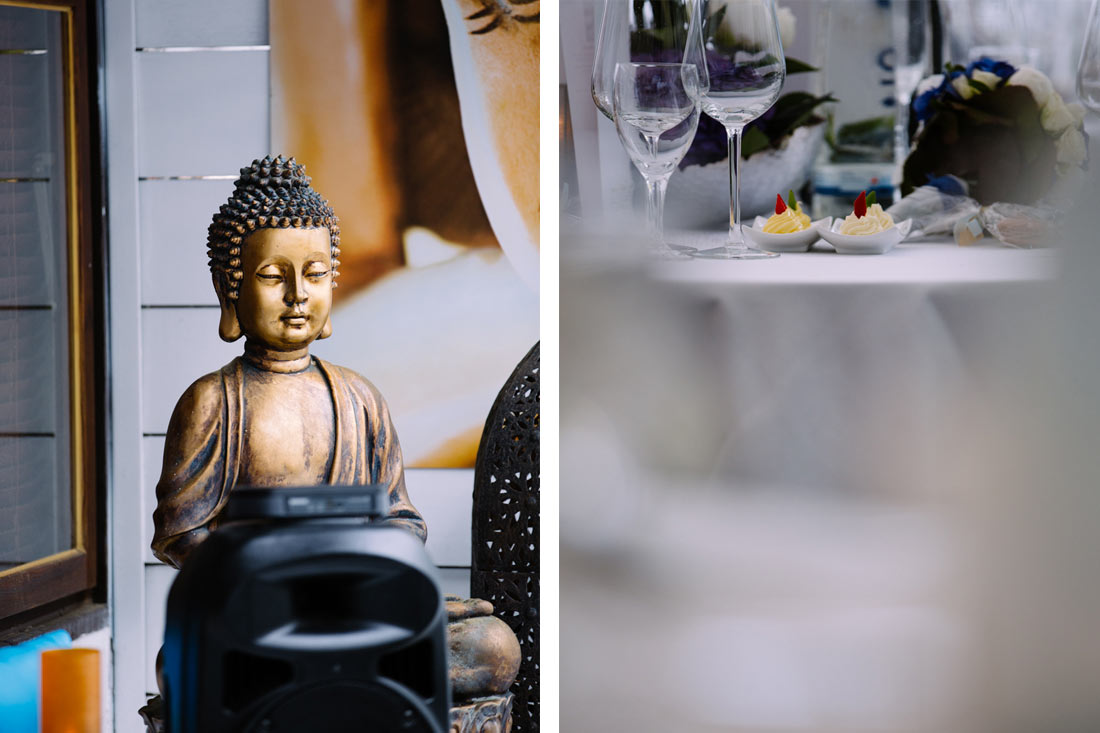 Buddha als Dekoelement