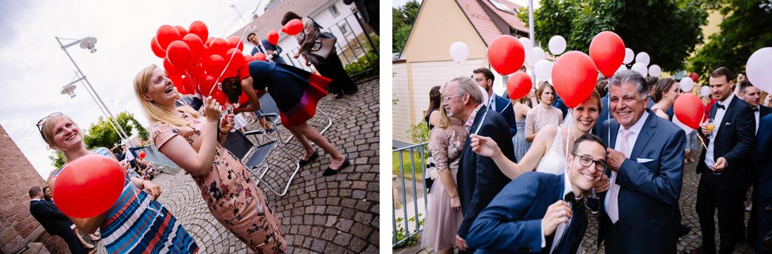 Spass mit Luftballons