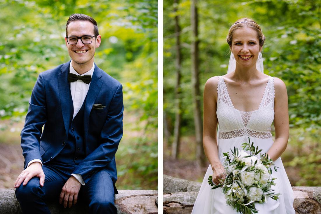 Portraits im Wald