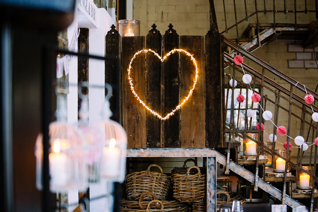 Leuchtendes Herz