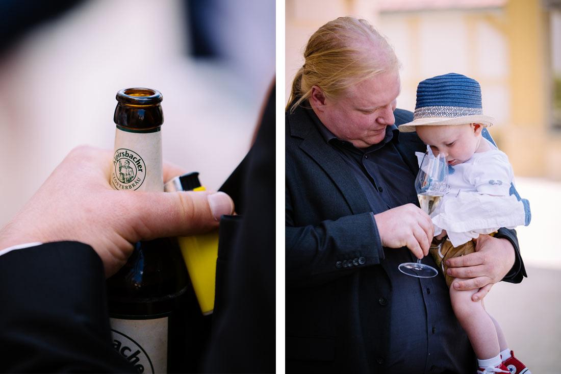 Bier und Sekt