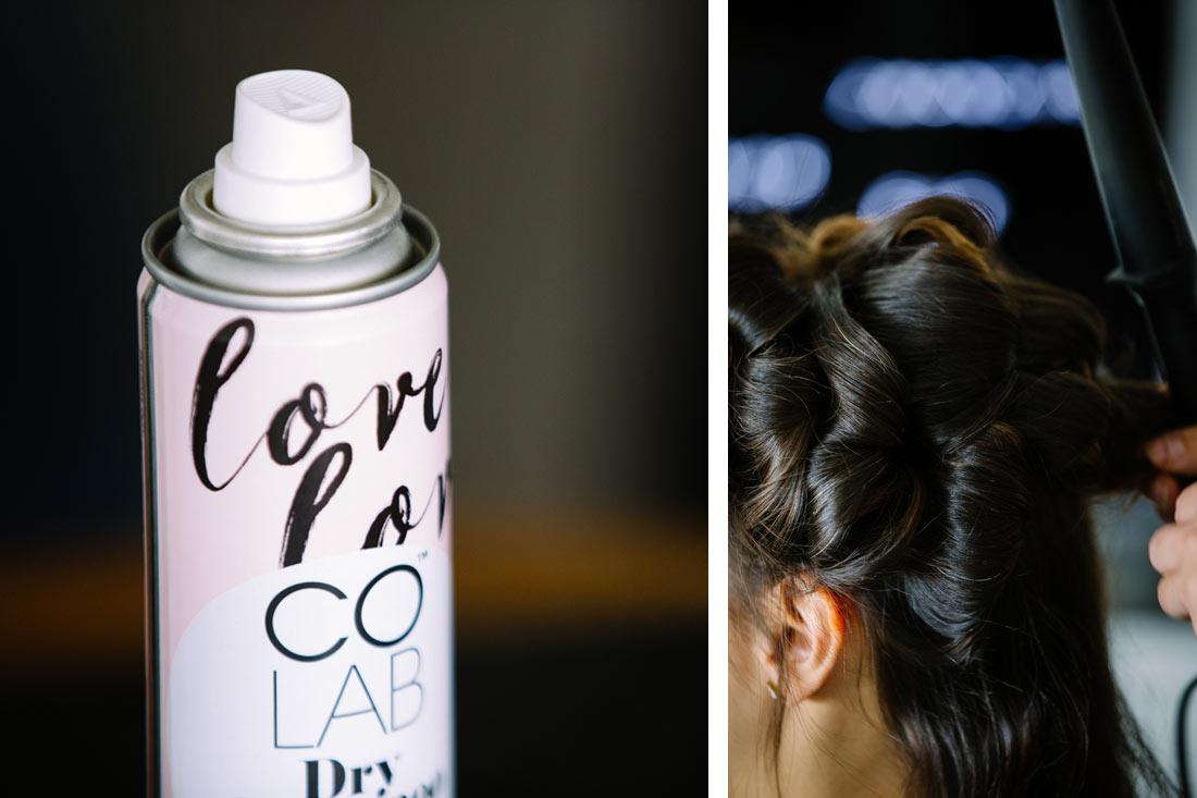 Haarspray mit Love-Aufdruck