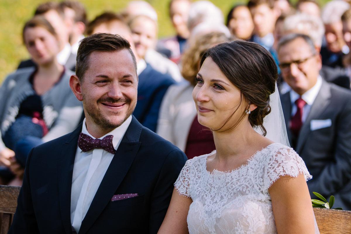 Gerührte Braut