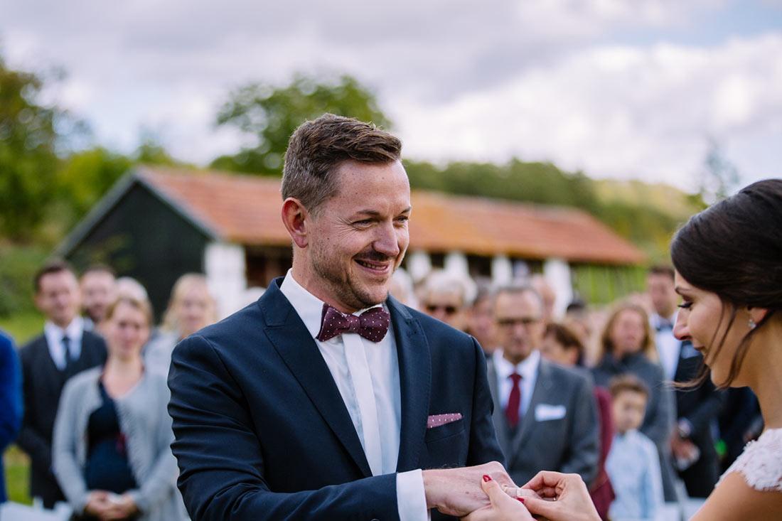 Der Ring für die Bräutigam