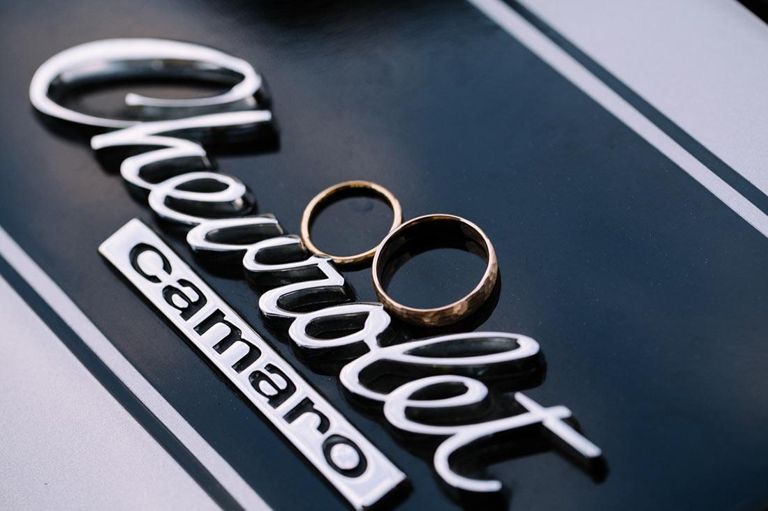 Ringbild auf Chevrolet Camaro