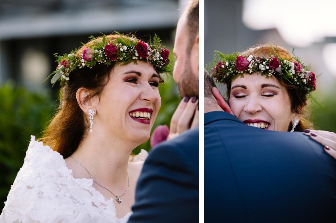 First Look der Braut