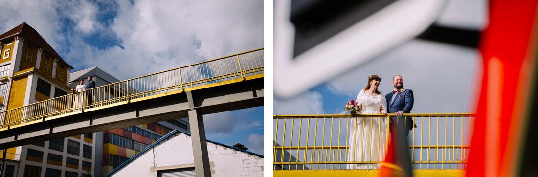 Hochzeitsfotos Bremen Industriegebiet