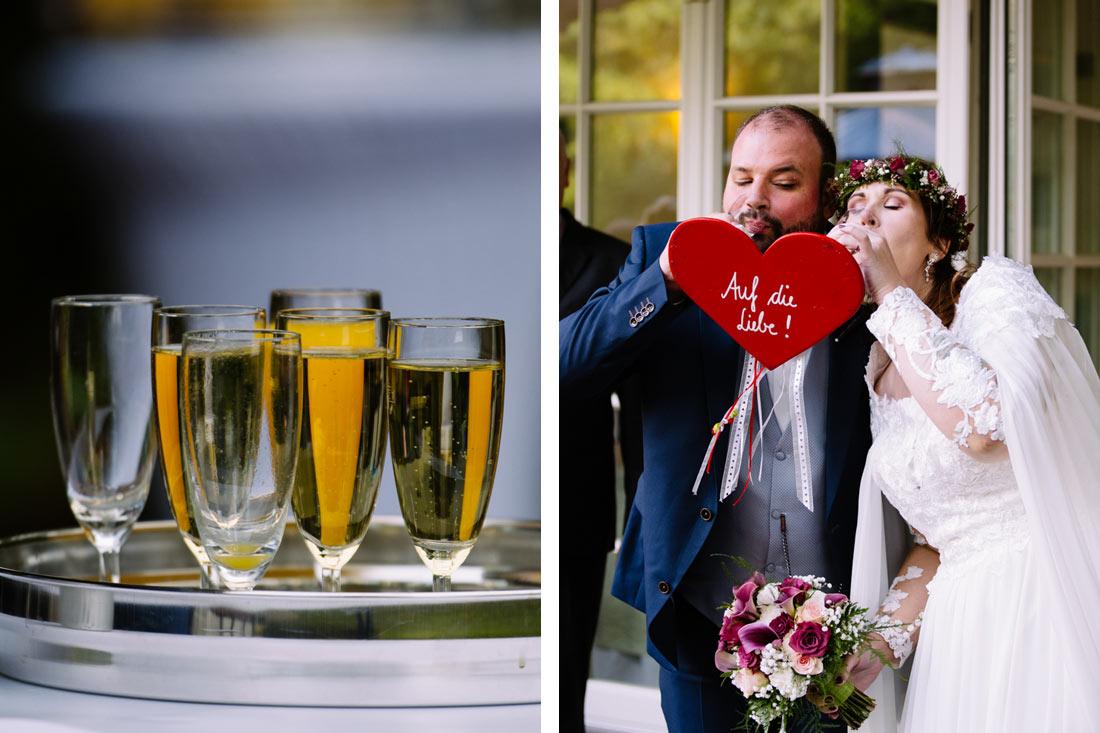 Auf die Liebe trinken