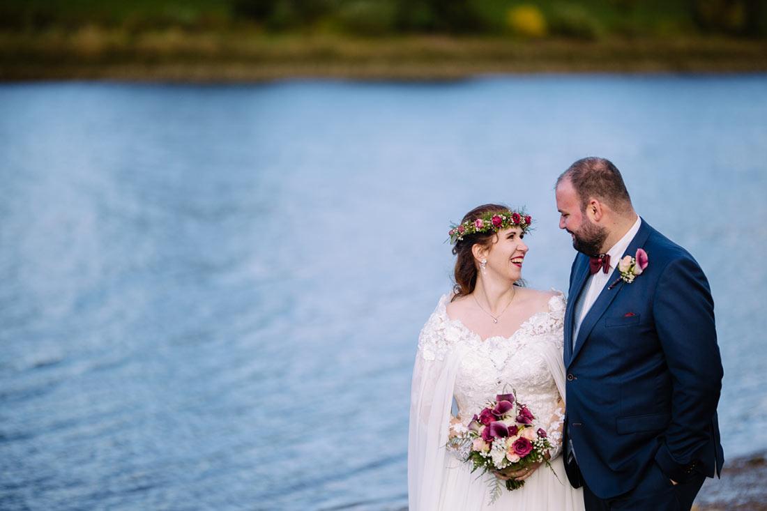 Hochzeitsfotografie an der Weser