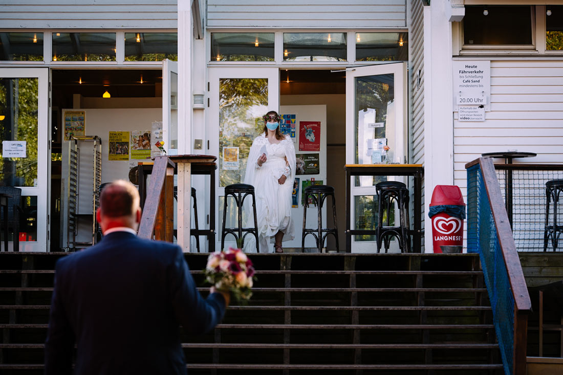 Corona-Hochzeit