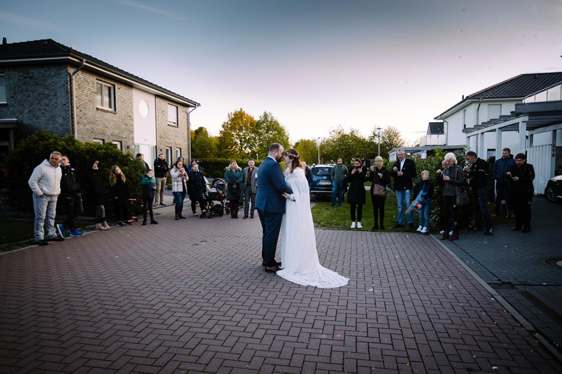 Hochzeitstanz beginnt