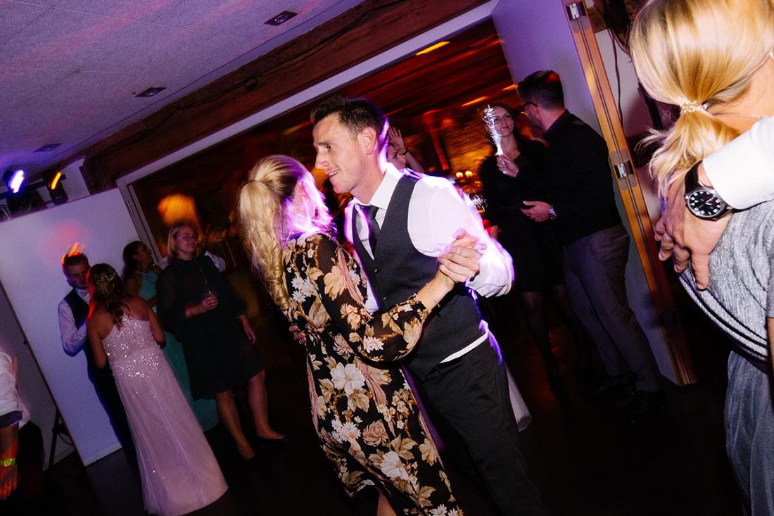 Paar am Tanzen